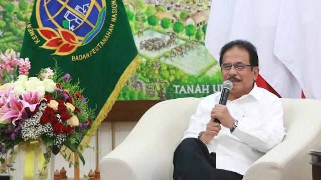 Menteri ATR/BPN : Jamin Tidak Akan Tarik Sertipikat Tanah Terkait Penerbitan Sertifikat Elektronik