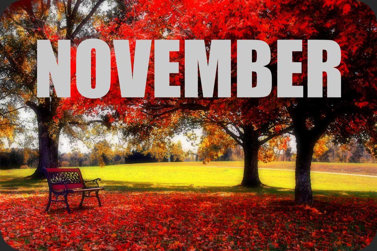 Καλό μήνα! Ήρθε ο Νοέμβριος