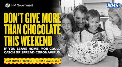 UK Government don't give more than chocolate this weekend