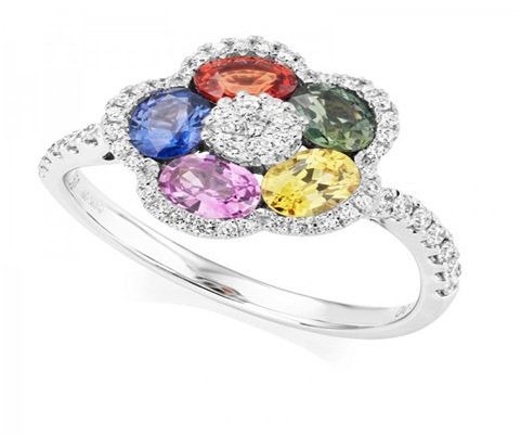 Fancy Coloured Rings