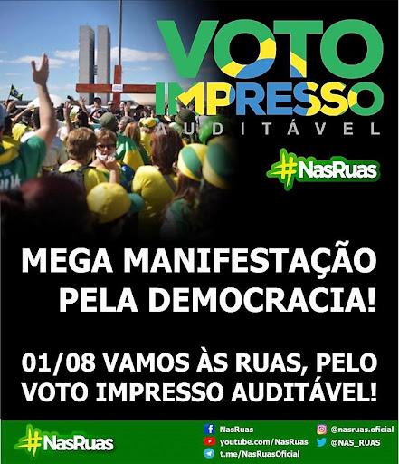 1º de agosto: Brasil