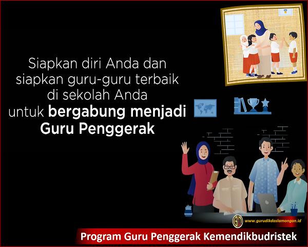 Program Guru Penggerak Kemendikbudristek