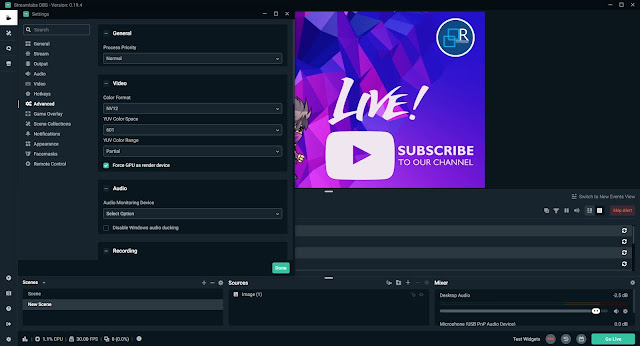 Software Yang Biasa Kita Gunakan Untuk Stream Record dan Editing Di Youtube Retuwit