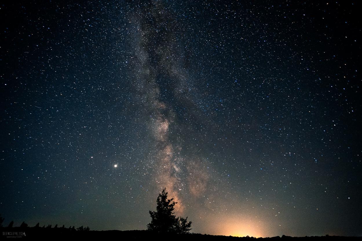 комета C/2020 NEOWISE зорі небо звезды