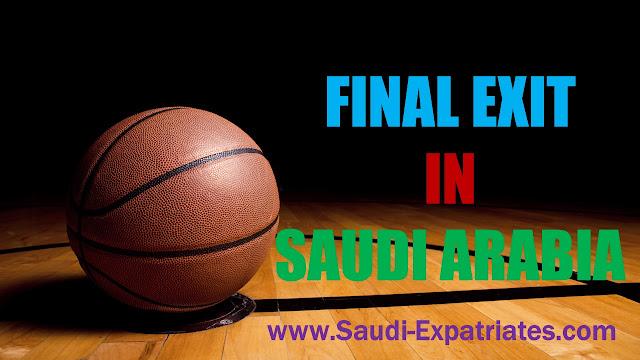 FINAL EXIT VISA IN SAUDI ARABIA