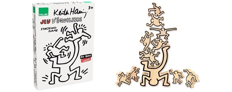Juego de equilibrio de Keith Haring