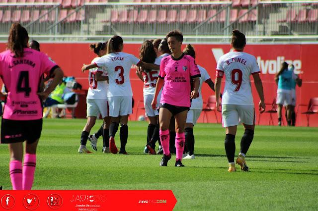 Sevilla FC Femenino 4 Sporting de Huelva 0