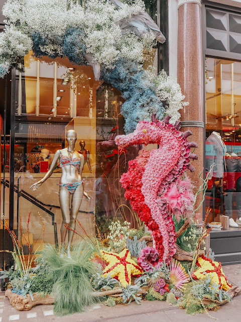 Chelsea in Bloom Under the Sea 2019 Pink Seahorse