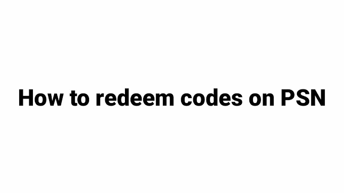 how to redeem codes on PSN