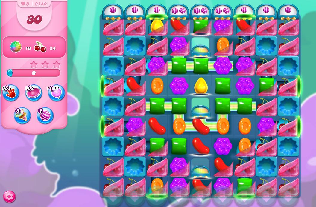 Candy Crush Saga level 9149