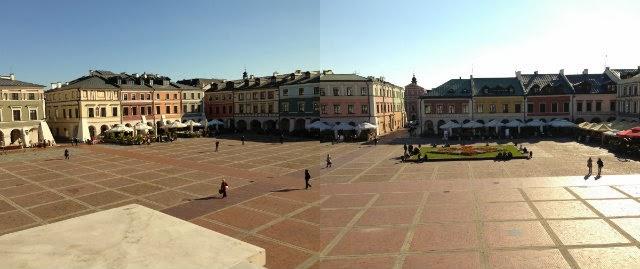 Rynek w Zamościu, Zwiedzanie Zamościa, ciekawe miejsca w Zamościu, Zamość na weekend.