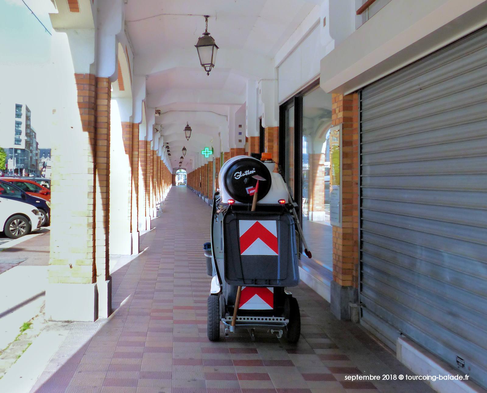 Propreté Tourcoing - Aspirateur Glutton aux Arcades