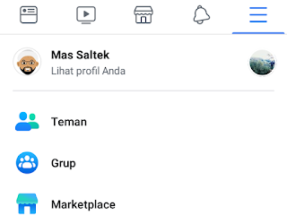 buka teman facebook