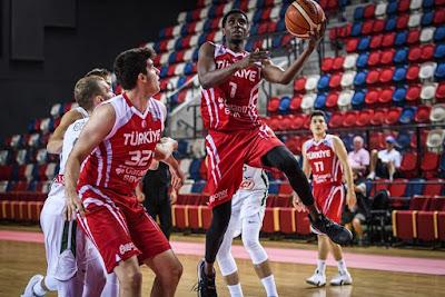 FIBA U20 Europe - Türkiye - Muhaymin Mustafa - Yigit Baran Sarikaya