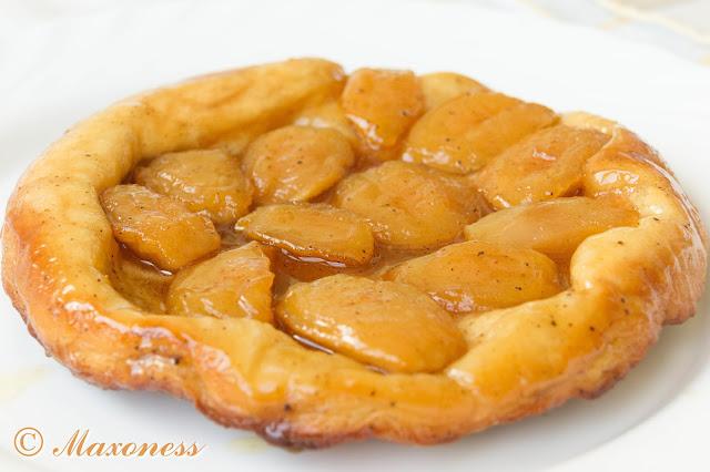 Тарт татен с карамельными яблоками от Гордона Рамзи