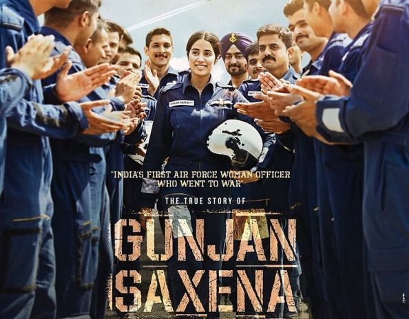 full cast and crew of Bollywood movie Gunjan Saxena: The Kargil Girl 2020 wiki, movie story, release date, Shubh Mangal Zyada Saavdhan Actor name poster, trailer, Video, News, Photos, Wallpaper, Wikipedia