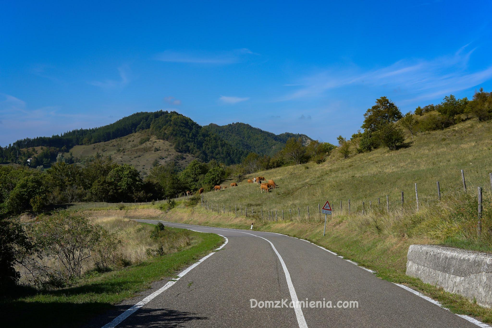 Jesień w Toskanii, Dom z Kamienia blog