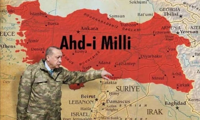 """Το """"δάσος"""", ο πόλεμος στον Καύκασο και η στρατηγική της Τουρκίας"""