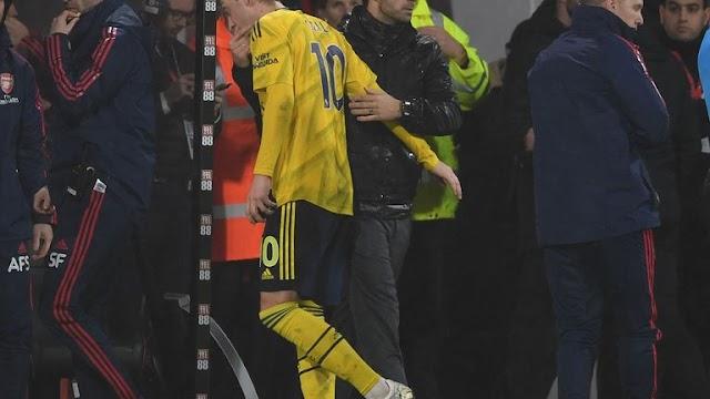 Arsenal boss Mikel Arteta hails Mesut Ozil's 'incredible' attitude