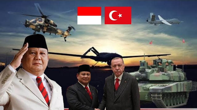 Prabowo Incar Pesawat Tanpa Awak Buatan Turki