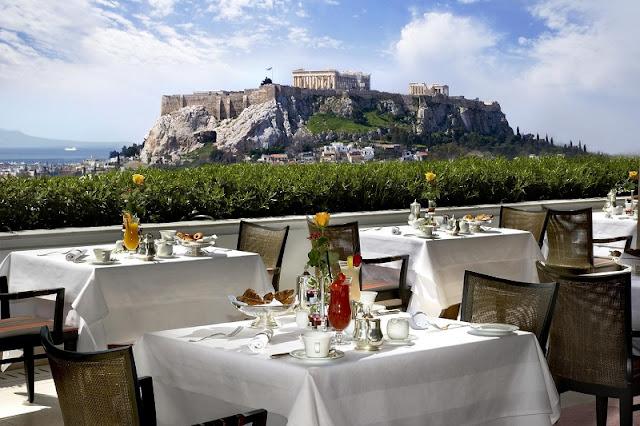 Restaurantes românticos em Atenas