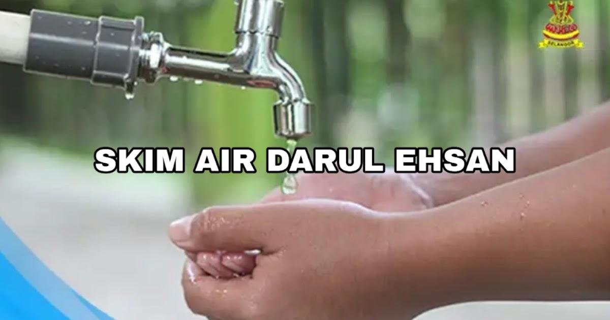 Permohonan Air Percuma Selangor 2020 Skim Air Darul Ehsan Spa