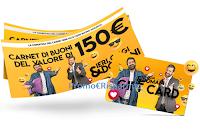 Logo Concorso ''Ieri Oggi & Domani'' : vinci gratis 160 Gift Card/ buoni shopping da 150 euro