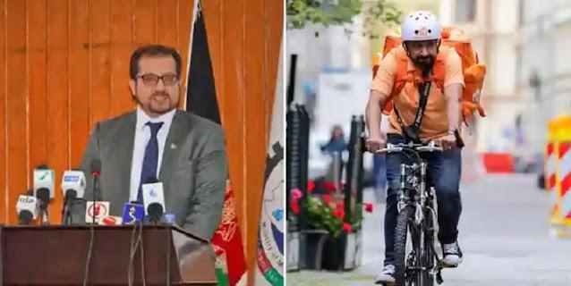 Pindah ke Jerman, Mantan Menteri Afghanistan Jadi Pengantar Makanan Cepat Saji