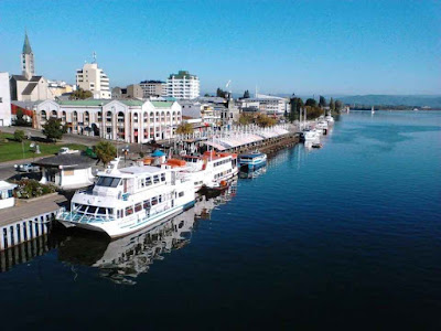 City of Valdivia, Chile.