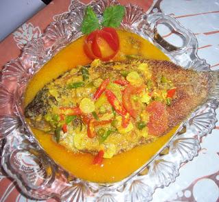 Reesp cara memasak bawal bumbu pesmol, bumbu pesmol ikan mas, bumbu pesmol ikan kembung, bawal, nila, resep ikan pesmol sunda, resep pesmol bandeng, betawi, tongkol, mujair