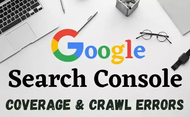 Google Search Console coverage Error Fixing