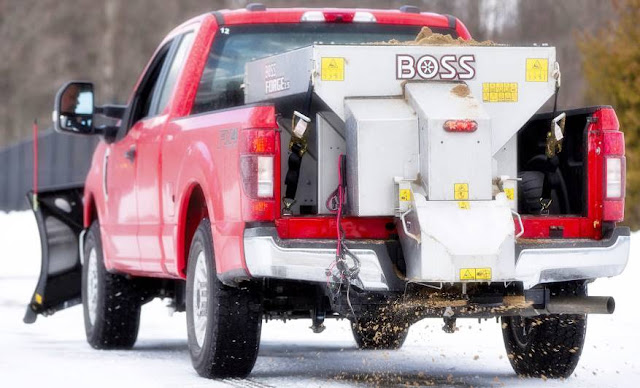 2020 Ford Super Duty Snow Plow Prep Package 1,400 pounds