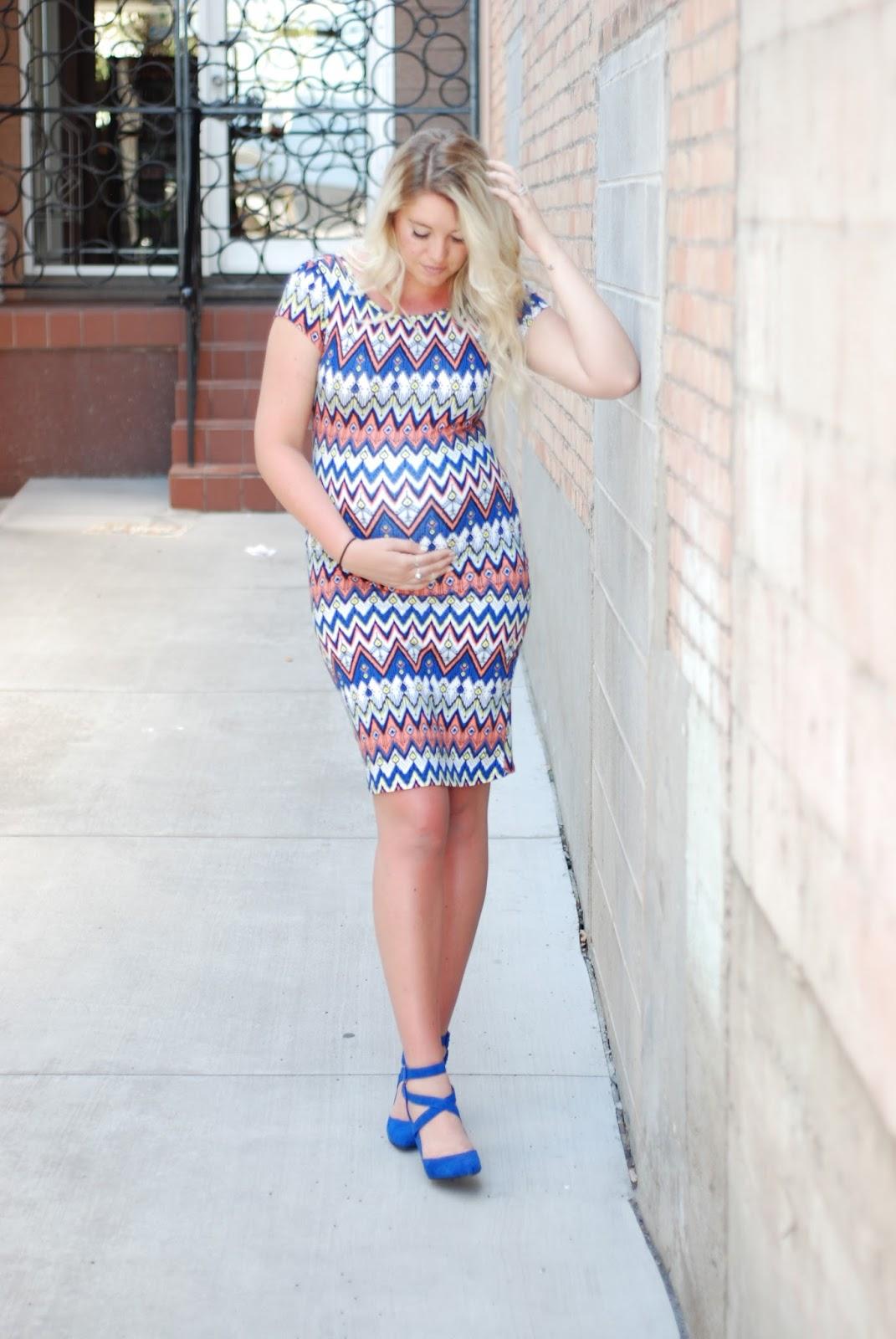 Zig Zag Dress, Midi Dress, AMI Clubwear