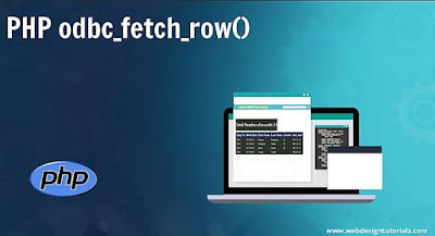PHP odbc_fetch_row() Function