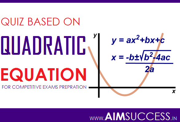 Quadratic Equation for SBI PO/Clerk 2018: 16 May