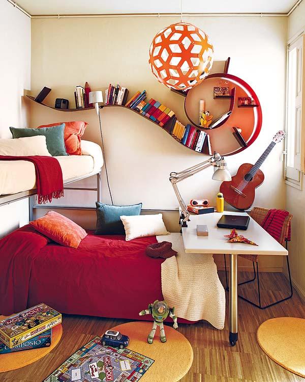 40 ideias de decora o para pequenos espa os design innova for Beautiful house music