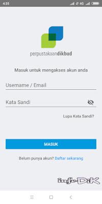 Tutorial Instal dan Gunakan EPerpusdibud di HP Android
