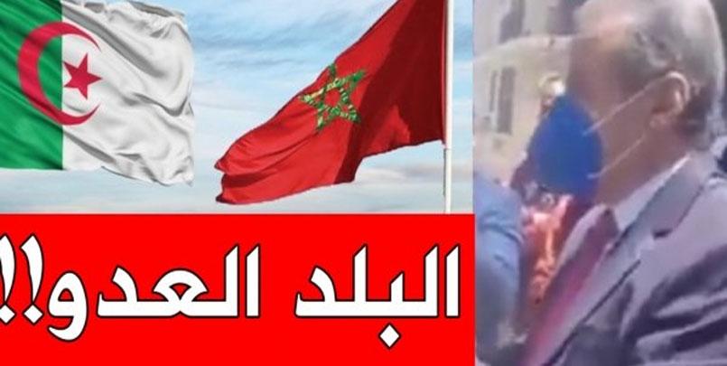 قنصل المغرب في وهران,فيديو قنصل المغرب في وهران,قنصل المغرب في وهران يصف الجزائر بالبلد العدو,Le consul marocain à Oran