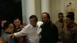 Prabowo dan Surya Paloh Sepakati Amandemen UUD 1945 Menyeluruh