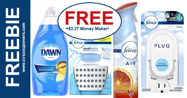 FREE Febreze & Dawn CVS Deal 825-831