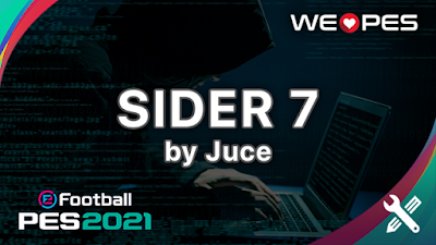 Sider v7.0.2 by Juce | PES 2021