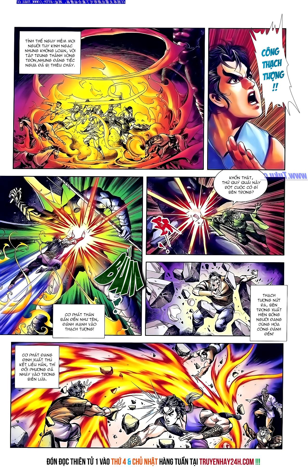 Cơ Phát Khai Chu Bản chapter 141 trang 28