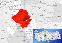 Boztepe ilçesinin nerede olduğunu gösteren harita