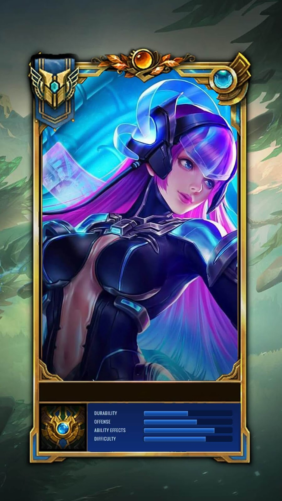 Wallpaper Selena Virus V1 Skin Mobile Legends HD for Android and iOS