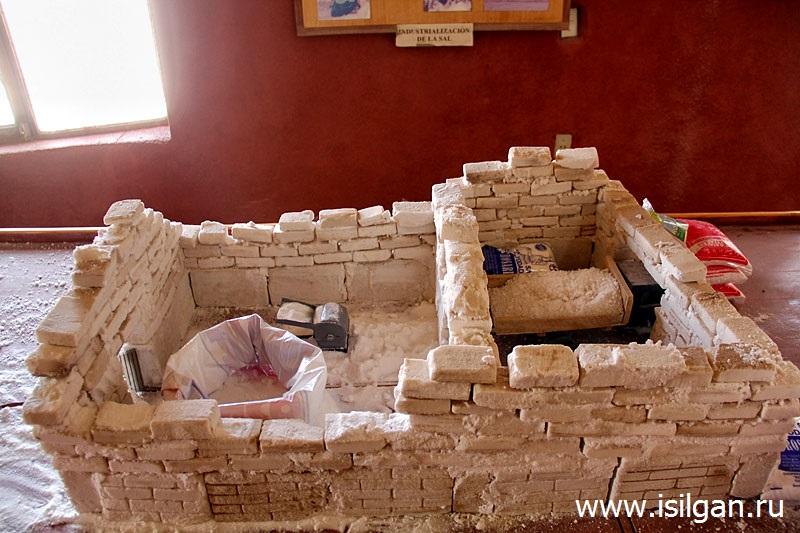 "Музей ламы и соли (Museo de la Llama y la Sal ""Colchani""). Деревня Колчани. Боливия"