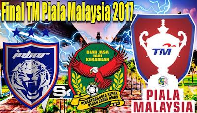 Final Piala Malaysia JDT vs Kedah 4 November 2017