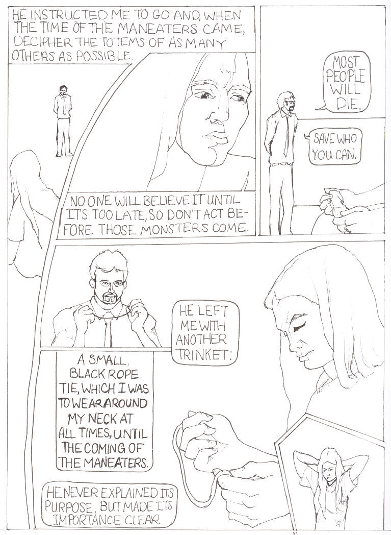 Monster Rat Comics: Chelsea- Pages 3 through 5 to the Final