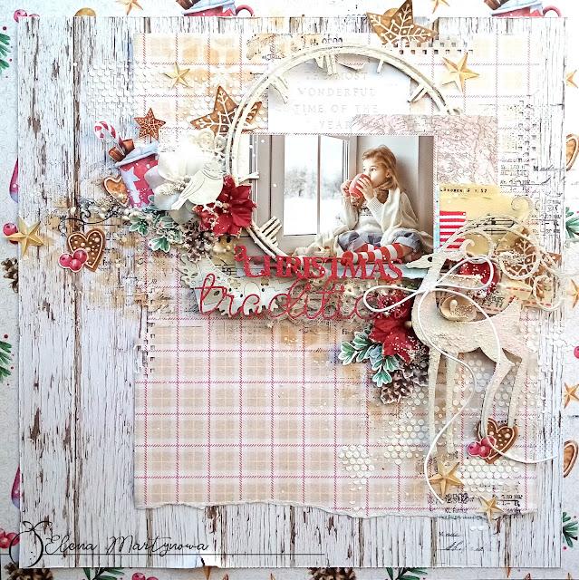 Świąteczny layout, świąteczne wspomnienia. / A Christmas layout, Christmas memories
