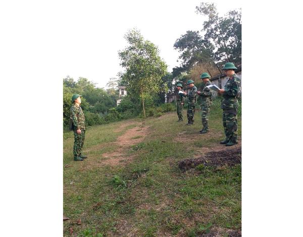Trường SQLQ1: Bộ môn Chiến thuật Dân quân tự vệ, Khoa Quân sự địa phương tổ chức bồi dưỡng nâng cao chất lượng hoạt động phương pháp