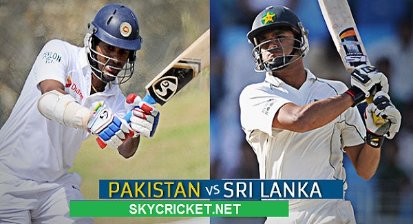 Pakistan vs Sri Lanka Test Series Fixture